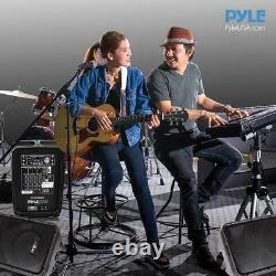 Pyle Stage and Studio 8 Bluetooth PA Loud Speaker and Amplifier Mixer(Open Box)