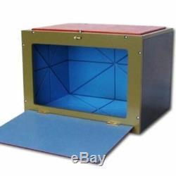 RABBIT MIRROR BOX Professional Magic Trick Stage Illusion Animal Production Wood