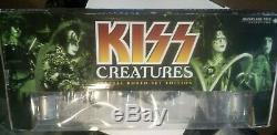 RARE NIB 2002 McFarlane Kiss Creatures Limited Edition Boxed Figures Stage Set