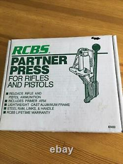 RCBS Partner Single Stage Press, New In the Box EXCELLENT