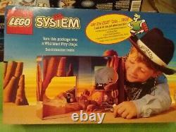 SEALED BOX Wild West LEGO System 6799 Set of 2 models & play stage 69 pcs 1997