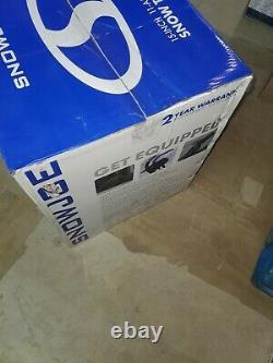 Snow Joe SJ615E Electric Single Stage Snow Thrower, 15-Inch, 11 Amp Motor BOX OPEN