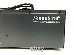 Soundcraft Mini Stage Box 32i 32 x 12 Compact Digital Stage Box #7915 (One)