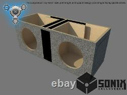 Stage 1 Dual Ported Subwoofer Mdf Enclosure For American Bass Xr12 Sub Box