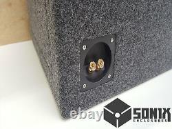 Stage 1 Dual Ported Subwoofer Mdf Enclosure For Jl Audio 13w3v3 Sub Box