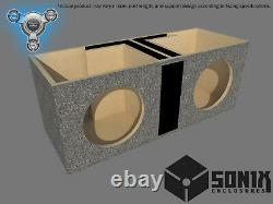 Stage 1 Dual Ported Subwoofer Mdf Enclosure For Sundown Sa10 Sub Box