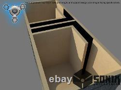Stage 1 Dual Ported Subwoofer Mdf Enclosure For Sundown Sa12 Sub Box
