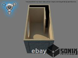 Stage 1 Ported Subwoofer Mdf Enclosure For American Bass Xr12 Sub Box