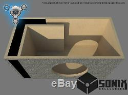 Stage 1 Ported Subwoofer Mdf Enclosure For Emf Audio Benhammer 15 Sub Box