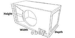 Stage 1 Special Edition Ported Subwoofer Box Skar Audio Evl-12 Evl12 12 Sub