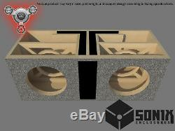 Stage 2 Dual Ported Subwoofer Mdf Enclosure For American Bass Hd10 Sub Box
