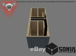 Stage 2 Dual Ported Subwoofer Mdf Enclosure For Crossfire Audio C5-8 Sub Box