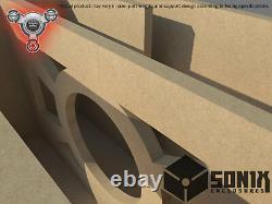 Stage 2 Ported Subwoofer Mdf Enclosure For Alpine R-w10 Sub Box