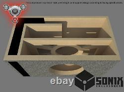Stage 2 Ported Subwoofer Mdf Enclosure For Alpine Swr-8 Sub Box