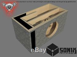 Stage 2 Ported Subwoofer Mdf Enclosure For Jl Audio 12w6v3 Sub Box