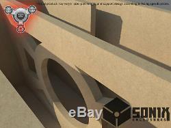 Stage 2 Ported Subwoofer Mdf Enclosure For Massive Audio Torox12 Sub Box