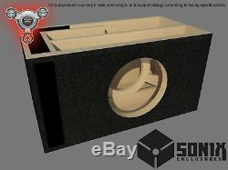Stage 2 Ported Subwoofer Mdf Enclosure For Orion Xtr12 Sub Box