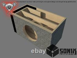 Stage 2 Ported Subwoofer Mdf Enclosure For Rockville Destroyer 12 Sub Box