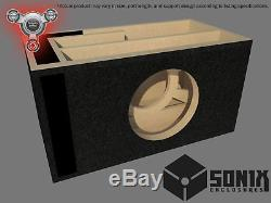Stage 2 Ported Subwoofer Mdf Enclosure For Skar Audio Vxf-12 Sub Box