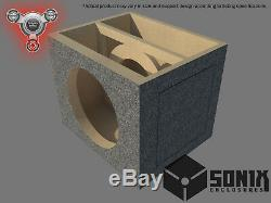 Stage 2 Sealed Subwoofer Mdf Enclosure For Alpine Swr-12 Sub Box
