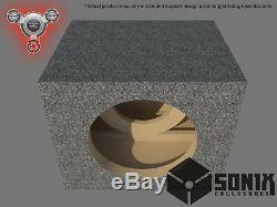 Stage 2 Sealed Subwoofer Mdf Enclosure For Jl Audio 12w7ae Sub Box