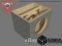 Stage 2 Sealed Subwoofer Mdf Enclosure For Skar Audio Ddx-12 Sub Box