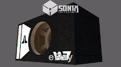 Stage 2 Special Edition Ported Subwoofer Box Jl Audio 12w7ae Sub White