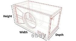 Stage 2 Special Edition Ported Subwoofer Box Skar Audio Zvx-15v2 Zvx15 V2 Sub