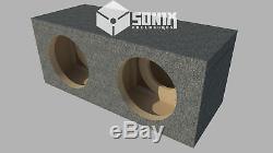 Stage 3 Dual Sealed Subwoofer Mdf Enclosure For Skar Audio Ddx-12 Sub Box