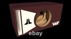 Stage 3 Limited Edition Ported Subwoofer Box Jl Audio 12w7ae Walnut