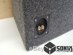 Stage 3 Ported Subwoofer Mdf Enclosure For Audio Pipe Txx-bd4-12 Sub Box