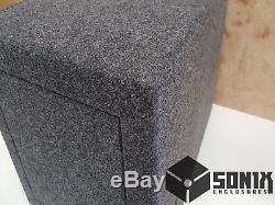 Stage 3 Ported Subwoofer Mdf Enclosure For DC Audio Level 5 Lv5-12 Sub Box
