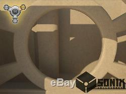 Stage 3 Ported Subwoofer Mdf Enclosure For Digital Design 715 Sub Box