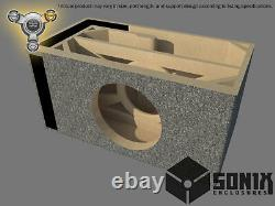Stage 3 Ported Subwoofer Mdf Enclosure For Nvx Vcw12 Sub Box