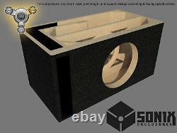 Stage 3 Ported Subwoofer Mdf Enclosure For Skar Audio Evl-10 Sub Box