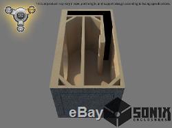 Stage 3 Ported Subwoofer Mdf Enclosure For Skar Audio Zvx-12v2 Sub Box