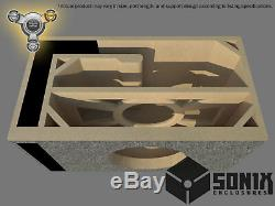 Stage 3 Ported Subwoofer Mdf Enclosure For Sundown 15zv4rev. 2 Sub Box