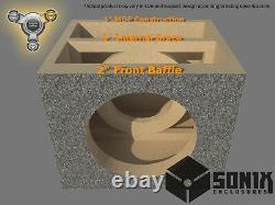 Stage 3 Sealed Subwoofer Mdf Enclosure For Acoustic Elegance Sbp12 Sub Box