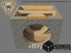 Stage 3 Sealed Subwoofer Mdf Enclosure For Image Dynamics Idq12 V4 Sub Box