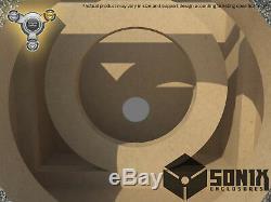 Stage 3 Sealed Subwoofer Mdf Enclosure For Jl Audio 12w6v3 Sub Box