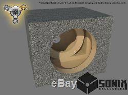 Stage 3 Sealed Subwoofer Mdf Enclosure For Kicker Cvx15 Sub Box