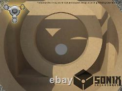 Stage 3 Sealed Subwoofer Mdf Enclosure For Skar Audio Ddx-12 Sub Box