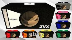 Stage 3 Special Edition Ported Subwoofer Box Skar Audio Zvx-18v2 Zvx18 V2 Sub