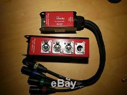Stage Box, Audio Snake, Multicore, Ethercon, RJ45 Cat 5, Rx and Tx Pair