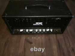 Stage Right by Monoprice 30-watt Tube Guitar Amp Head Open Box with Footswitch