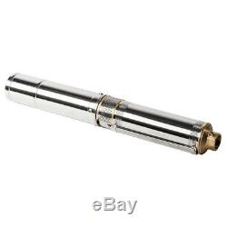 Submersible Stainless Steel 1HP Deep Well Pump 200FT 33GPM withControl Box 6 Stage