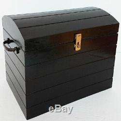 TIP OVER CHEST Treasure Production Box Stage Magic Trick Illusion Wood