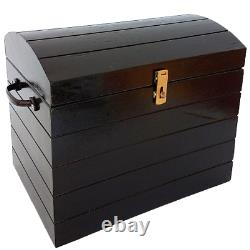 TIP OVER CHEST Wood Treasure Production Box Stage Magic Trick Illusion Bunny