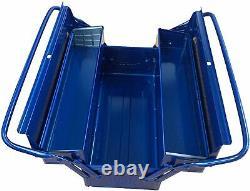 TRUSCO (Torasuko) 2-stage tool box 350X160X260 blue ST-3500-B