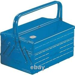 TRUSCO two-stage tool box 352X220X289 blue GL-350-B From Japan